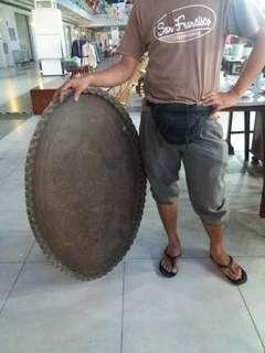 Talam tembaga 41 inci.. antik