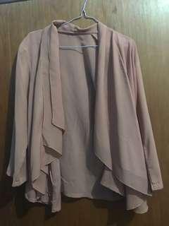 Chiffon outerwear
