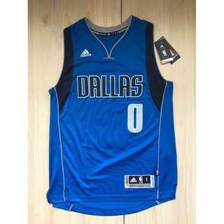 Adidas NBA 小牛隊 Wesley Matthews 球衣 S號