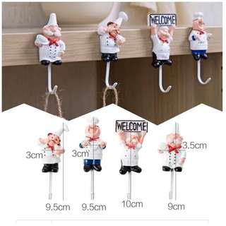 Chef Wall Hook (4in1)