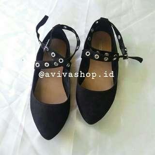 H&M Flatshoes Black