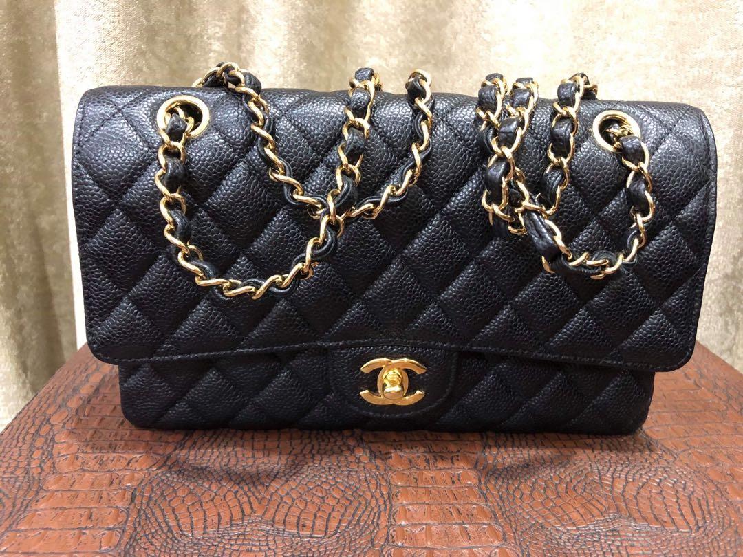 ebab56d08939 #21 chanel medium caviar full package bag, Luxury, Bags & Wallets, Handbags  on Carousell