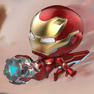 MISB Hot Toys Cosbaby Iron Man Mark L (Flight Thruster Version) Marvel Avengers Infinity War