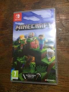 For trade only Minecraft Switch game