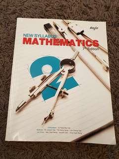 Sec 2 Math Textbook: New Syllabus Mathematics (7th Edition)
