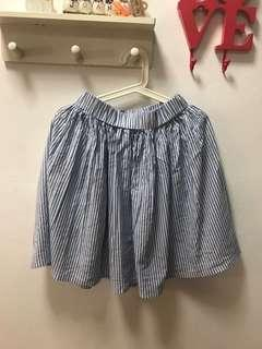 Preloved stripes skirt