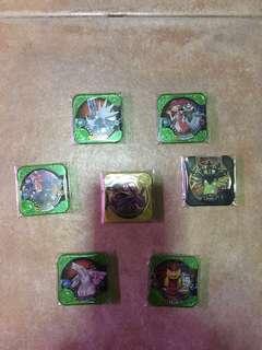 Pokémon tretta U1 set