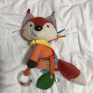 Skip Hop 🦊 fox stroller toy
