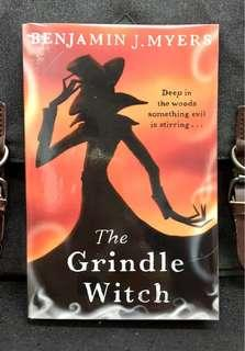 # Novel《BRAN-NEW ! + Spooky &  Truly Tense , Spooky and Creepy Supernatural Horror Story》Benjamin J. Myers - THE GRINDLE WITCH : Deep In The Woods Something Evil Is Stirring....