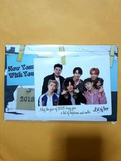 [WTS] Super Junior 2018 Greeting card (ELF JAPAN Fanclub limited)