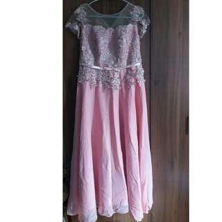 SALE! Price Drop! Principal Sponsor / Mother's Gown Pink