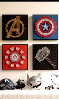 (SALE)Marvel DC Avengers superheroes DIY