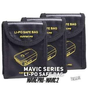 Lithium Polymer Battery Safe Bag for DJI Mavic Pro and Mavic 2 Pro