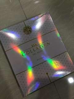 MISSHA 24k 10pcs collagen gel mask (wrinkle repairing) Korea store exclusive