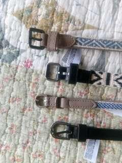 Esprit Belts Bundle (4 Designs)