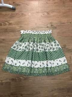 Preloved floral skirt from Japan