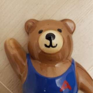 (極罕)澳洲尋寶-芭蕾舞 小熊仔 Ballet 陶瓷