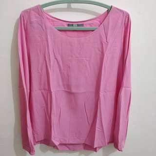 Uniqlo - Pink Plain Top