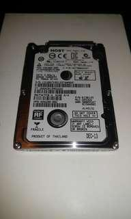 """HGST 500GB 5400RPM 7mm 2.5"""" HDD 硬碟 硬盤"""