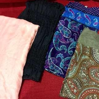 Wide shawl cotton