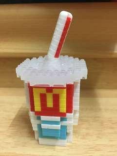 McDonald's food icons X nanoblock SBUX50
