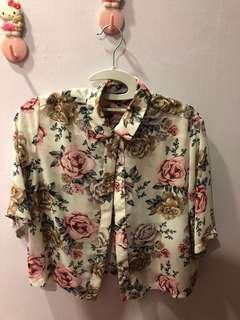 TEM vintage floral shirt