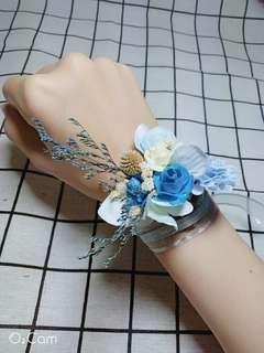🚚 手腕花(婚禮伴娘新娘專用)乾燥花+仿真花
