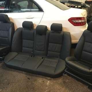 E60 LCI Comfort seats