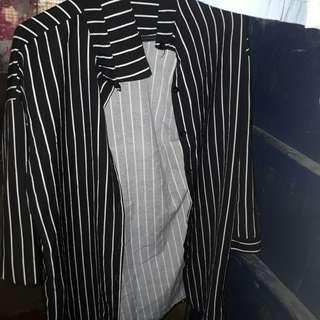 Stripe Long Polo