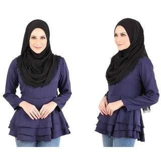 QA-445 Layered Blouse Collection