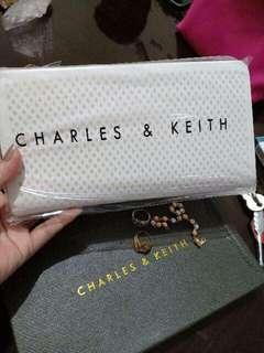 Charles & Keith Mesh Long Wallet (New Arrival)