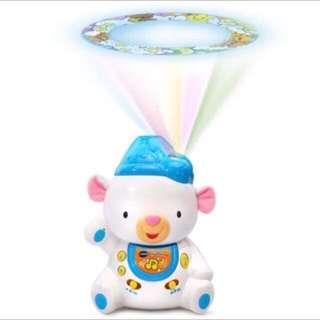 🚚 晚安熊音樂舒眠投射機. ..九成九新 #我的嬰幼可超取