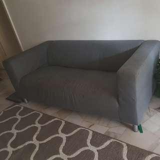 Klippan Grey Sofa