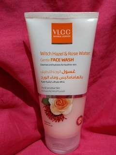 VLCC Witch Hazel & Rose Water Gentle Face Wash, 150 ml