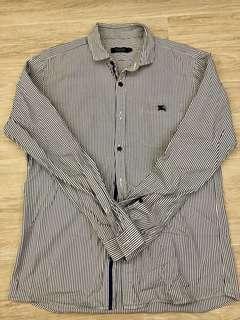 Burberry Black Lable Shirt (2)(M)