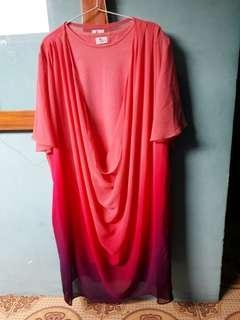 Dress Pink Lucu