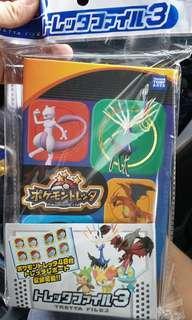 Pokemon Tretta Card folder New Sealed