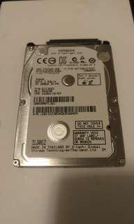 "HITACHI 320GB 7200RPM 7mm 2.5"" HDD 硬碟 硬盤"