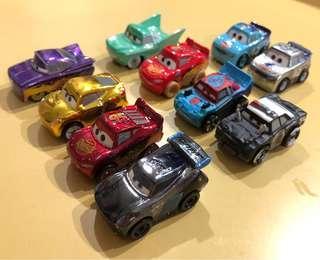 Original Mattel Cars Mini Racers for sale
