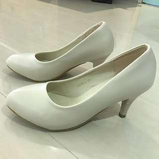 Shine - Beige High Heels