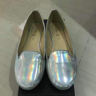 Footin - Hologram flat shoes