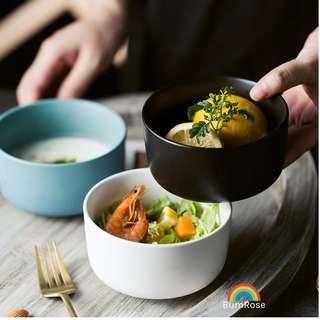 🚚 Nordic Ceramic Bowls