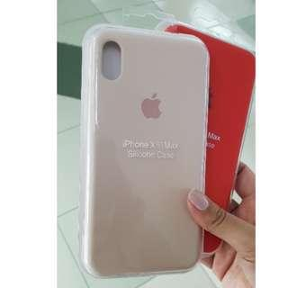 Apple Silicone Case New Colors iPhone XS Max