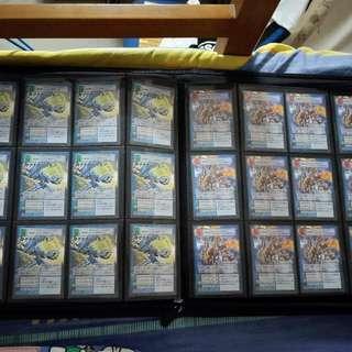 Digimon card  數碼暴龍特别卡 一套12張