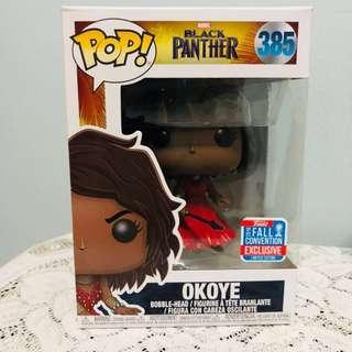 Funko Pop Okoye in Red Dress