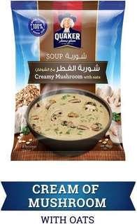 Quaker Creamy Mushroom Soup with Oats, 64 gms