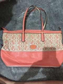 Guess bag pink