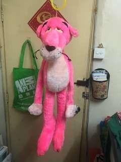 傻豹The pink panther毛公仔