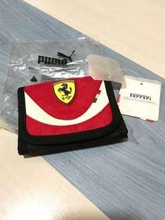 puma ferrari 銀包 wallet man pockets 法拉利