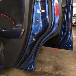 Honda Fit Soundproof doors seal strip